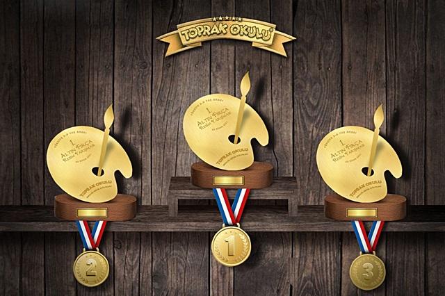 Çocuklar Altın Fırça Ödülleri İçin Yarışacaklar