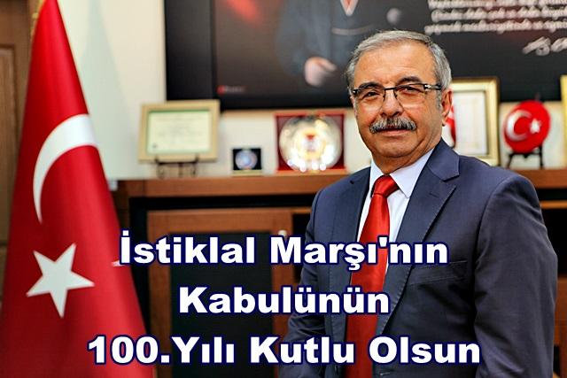 İstiklal Marşı'nın Kabulünün 100.Yılı Kutlu Olsun