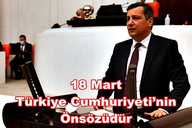 18 Mart Türkiye Cumhuriyeti'nin Önsözüdür