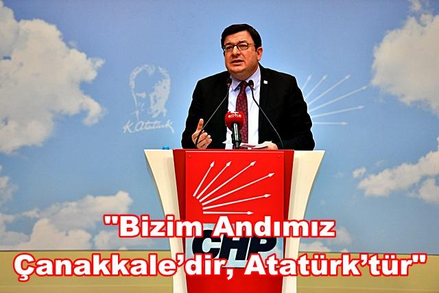 """""""Bizim Andımız Çanakkale'dir, Atatürk'tür"""""""