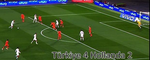 Türkiye 4 Hollanda 2
