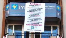 İYİ Parti Çanakkale'den Andımız Afişi