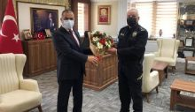 Kaymakamlığa Polis Haftası Ziyareti