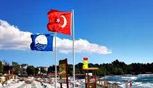 Mavi Bayrak 14 Plaj'da Dalgalanacak