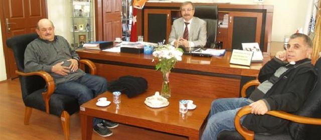 Fahri Konsolostan Başkan Özacar'a Ziyaret