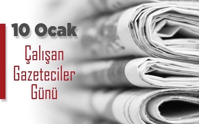 Özacar'ın Çalışan Gazeteciler Günü Mesajı