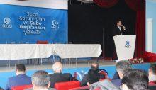 AGD Şube Başkanları Toplantısımazan