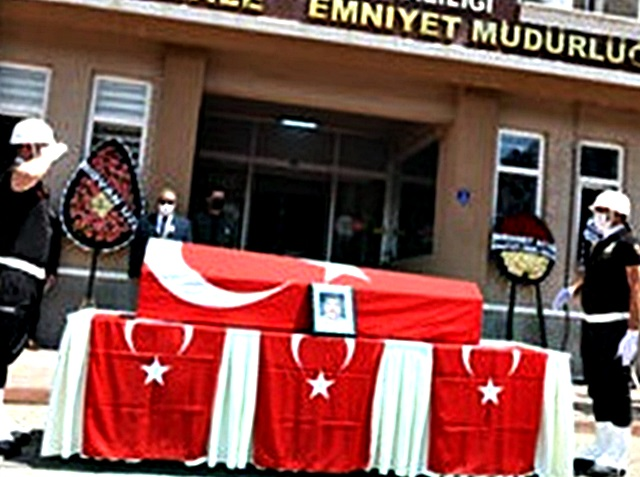 Şehit Polis Türkmenoğlu Törenle Uğurlandı