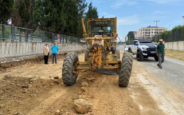 Eğritaş ve Karayokuş Caddesi Düzenleniyor