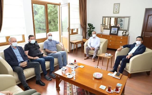 CHP İl Başkanı'nın Gelibolu Ziyareti