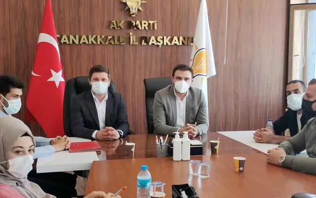 Marmara Bölge Koordinatörü Çanakkale'de