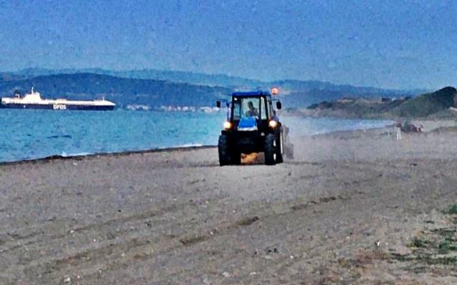 Gelibolu Kumsalları Temizleniyor