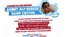 Ahmet Alp Bebeğe Sahip Çık