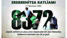 """Özacar'ın """"Srebrenitsa Katliamı"""" Mesajı"""