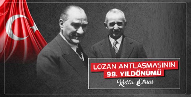 Lozan Antlaşması 98. Yıldönümü