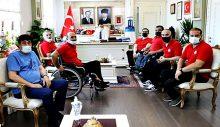 Çanakkale Boğazgücü'nden Vali İlhami Aktaş'a Ziyaret