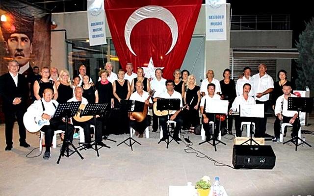 Gelibolu Musiki Derneği Çanakkale Konseri