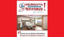 Gelibolu'ya Yeni Hastane İstiyoruz Gönüllüleri
