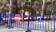 Nuri Erer Çamlığı Kapatıldı