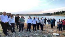 Pullu Sazan Balığı Yavruları Gölete Bırakıldı