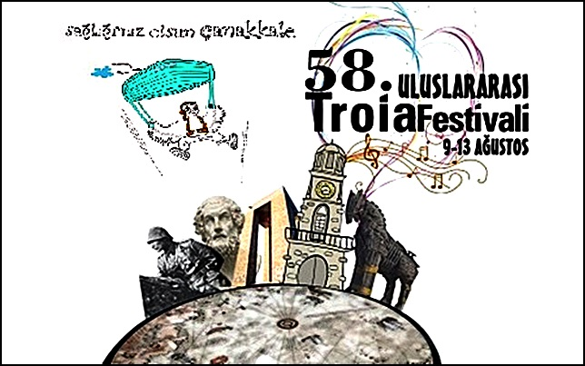Çanakkale 58. Uluslararası Troia Festivali