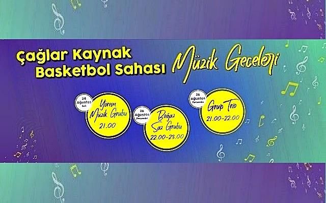 """Çanakkale'de """"Müzik Geceleri"""" Başlıyor"""