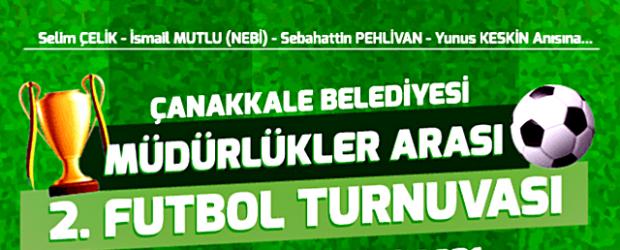 Çanakkale Belediyesi Futbol Turnuvası