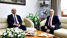 Kaymakam Abacı'dan Başkan Özacar'a Ziyaret