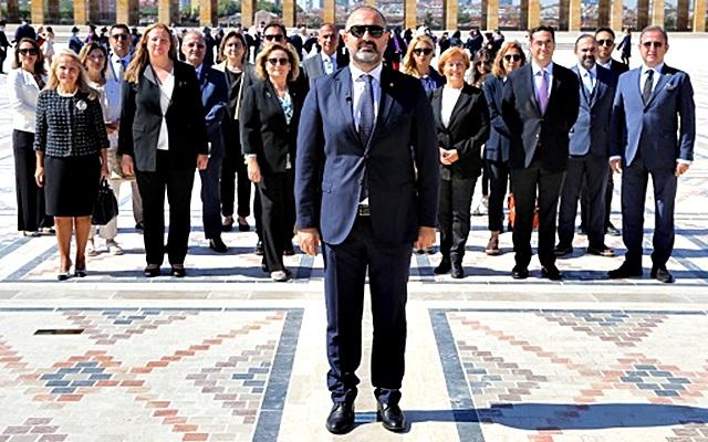 Taider'den Atatürk'e Ziyaret