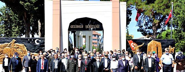 Gaziler Günü Törenle Kutlandı