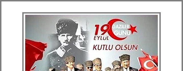 Özacar'ın 19 Eylül Gaziler Günü Mesajı
