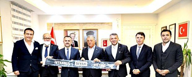 Beşiktaş Yönetiminden Çanakkale Valiliğine Ziyaret