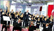 Gelibolu Musiki Derneği Bolayır Konseri